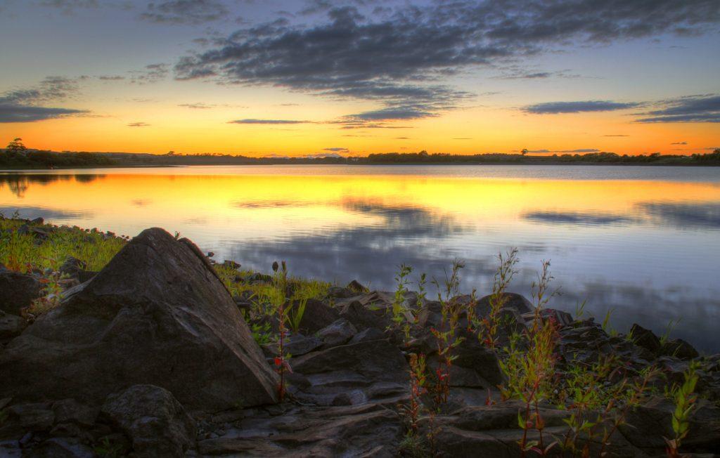 Balgray Reservoir, Dams to Darnley, East Ren
